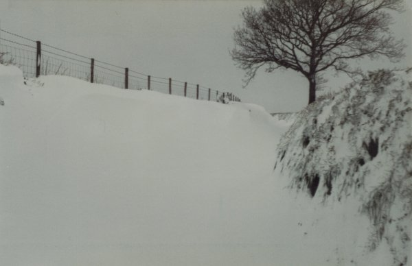 Snowdrifts April 1981